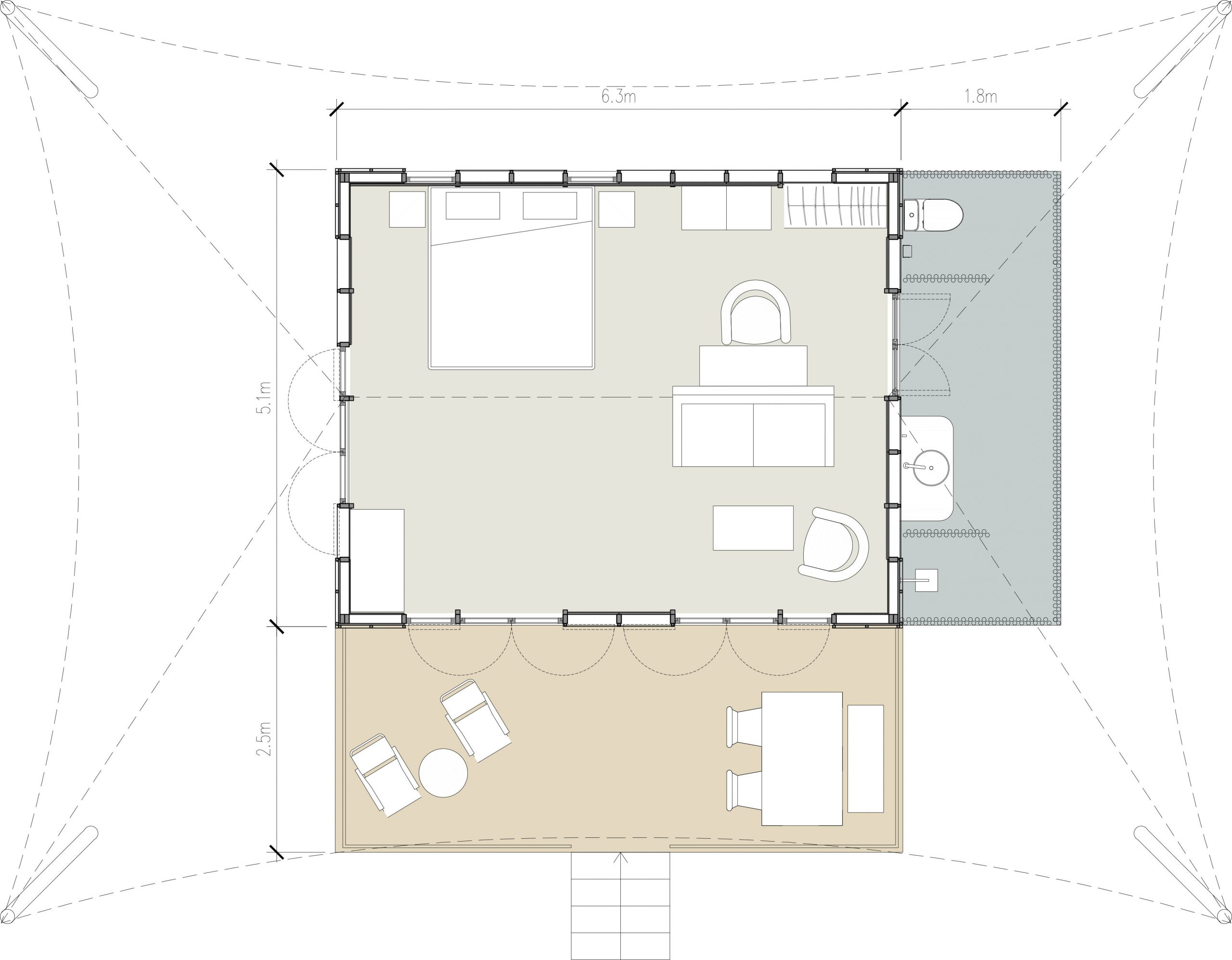 kanopya-lodge-4star-layout