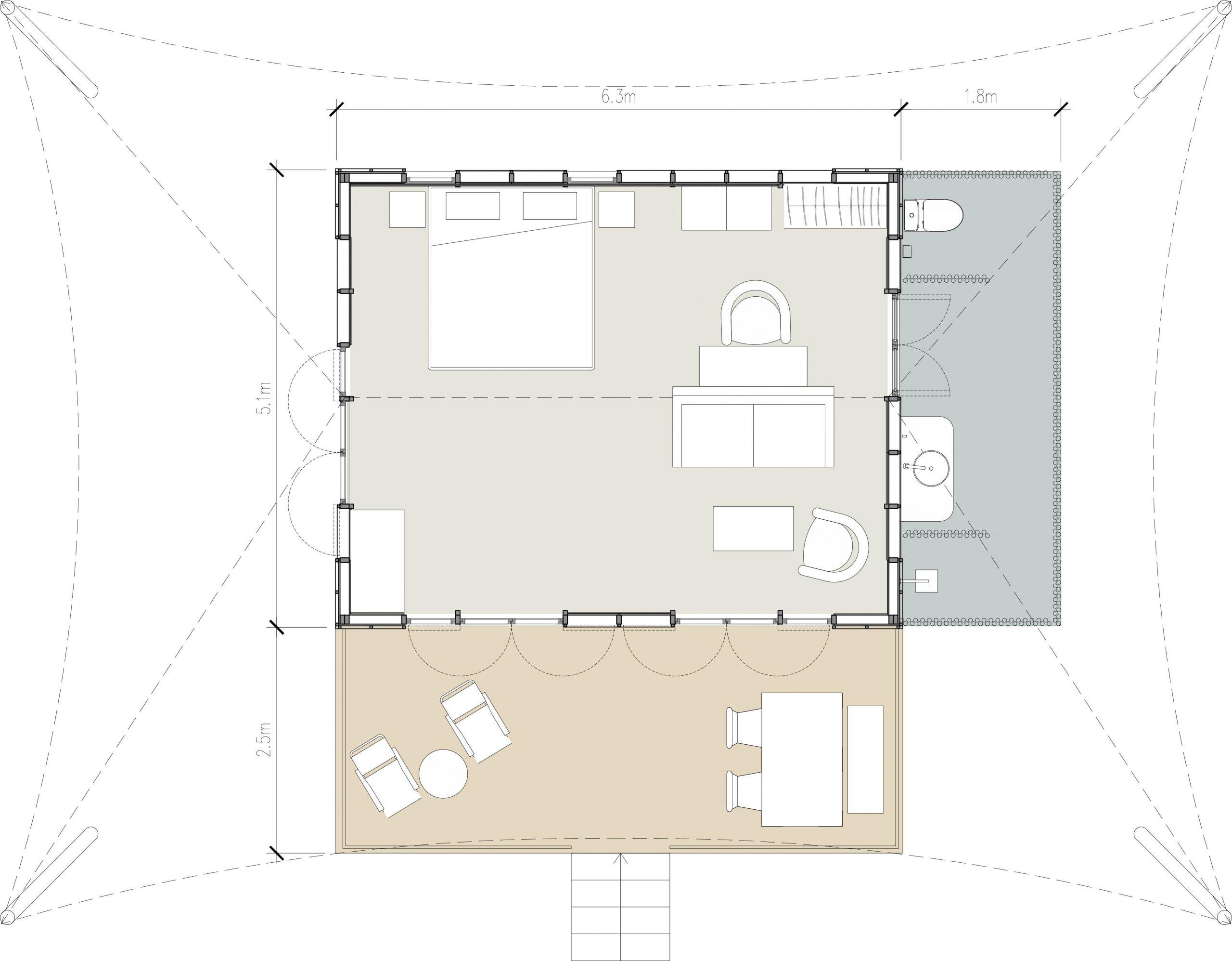 kanopya-lodge-4star-layout